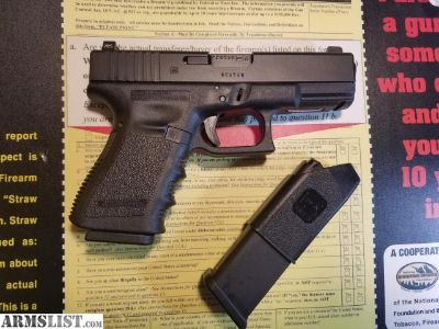 For Sale: NEW GLOCK 32 357 SIG + TRIJICON SUPPRESSOR HEIGHT SIGHTS/$20 SHIP