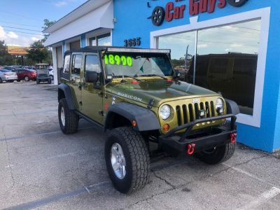 2008 Jeep Wrangler Unlimited Rubicon (Green)
