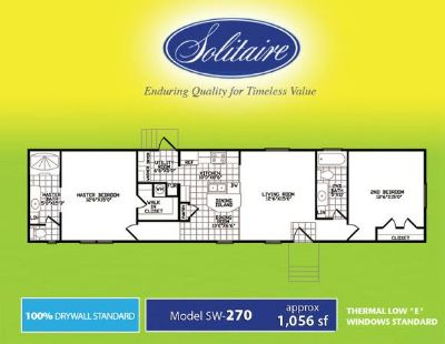 2 and 3 bedroom homes REDUCED (Solitaire Homes of Temple)
