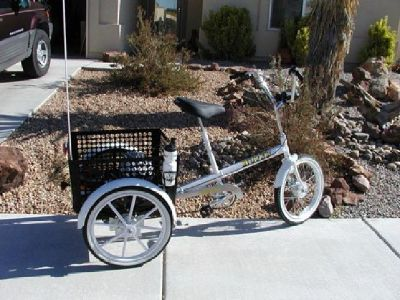 $450 3 Speed Mover Industrial Tricycle