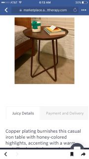 Side table - brand new condition