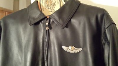Harley Davidson new limited edition 100 year anniversary leather jacket