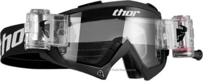 Sell Thor Bomber Goggles Adult Black Roll Offs Mud Dirt Riding MX ATV UTV Motocross motorcycle in Longview, Washington, United States, for US $59.95