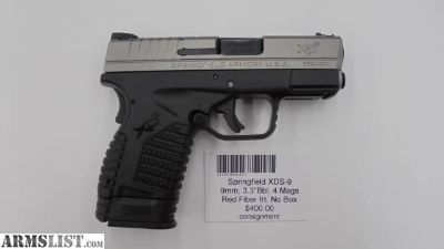 For Sale: Springfield XDS-9
