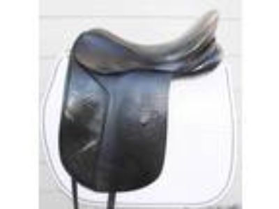 JRD 175 Custom Dressage saddle with buffalo