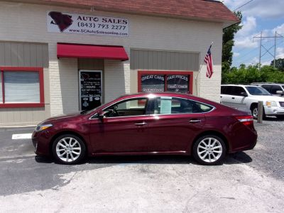 2013 Toyota Avalon XLE (Burgundy)