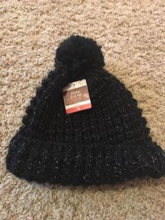 Black stocking hat from target