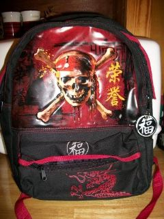 #5011 DISNEY SKULL BACKPACK
