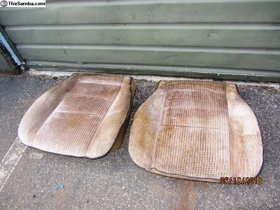 vanagon front seats bottom pieces