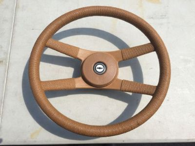 Find 9761838-1 CHEVROLET CAMARO/MONZA TAN ROPE STYLE STEERING WHEEL motorcycle in Cleveland, Ohio, United States, for US $145.00