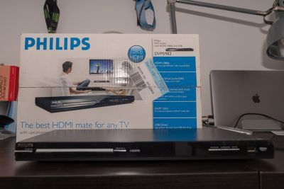 DVD Player Philips DVP5982 1080p Upscaling