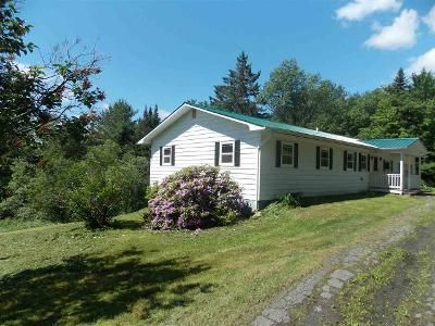 3 Bed 2 Bath Foreclosure Property in West Glover, VT 05875 - County Road