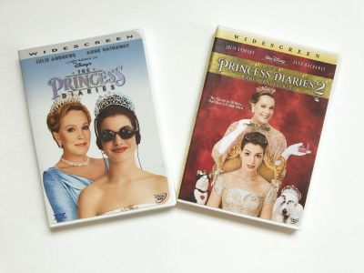 The Princess Diaries 1 and 2 on DVD