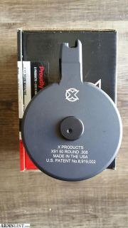 For Sale: X-91 50 Round Drum HK / PTR 91, G3, CETME .308 7.62x51