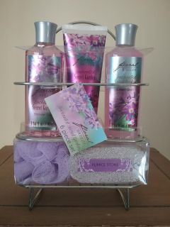 NEW BATH COLLECTION W/ SHOWER CADDY
