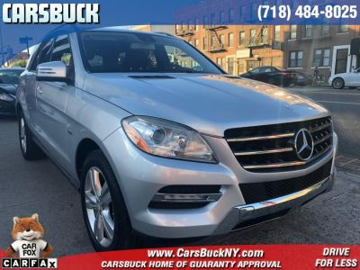 2012 Mercedes-Benz M-Class ML350 4MATIC (Palladium Silver Metallic)