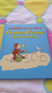 Brand new curious george goes to the beach 8x8 book brand new ($18.00)