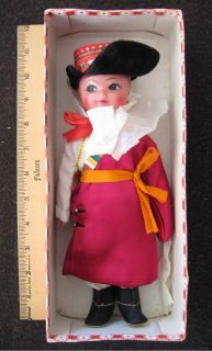 *~ Vintage ~ Embroidered Girl Dolls ~ The People's Republic of China ~*