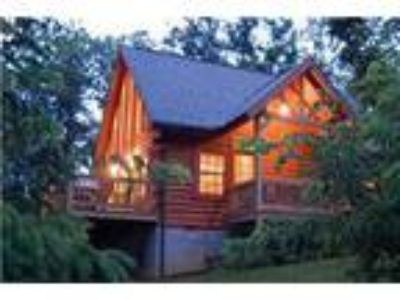 Log home with amazing bluff view! - Cabin