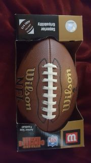 Autographed Wilson jr, Leather Football