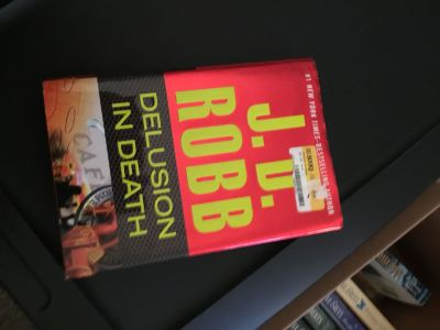 Delusion in Death Hardcover by JD Robb