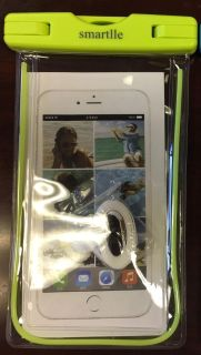 New Smarttle Waterproof Smartphone Bag. $5 Fits up to 6.5 phone. Smoke free home.
