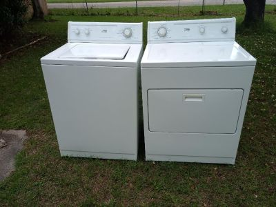 2012 Estate by Whirlpool washer and dryer