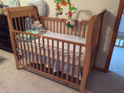 Baby Crib (Mattress Included)