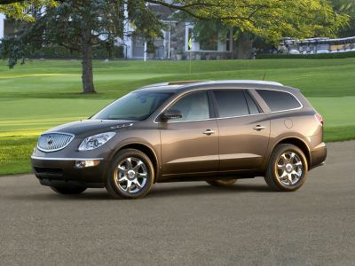 2010 Buick Enclave CXL (Red Jewel Tintcoat)