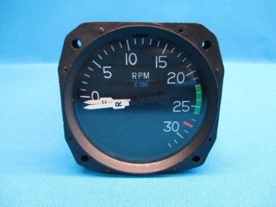Find Cessna Dual Tachometer Indicator P/N: C668021-0103 , 5645-01 Tach Gauge (17629) motorcycle in Melbourne, Florida, United States