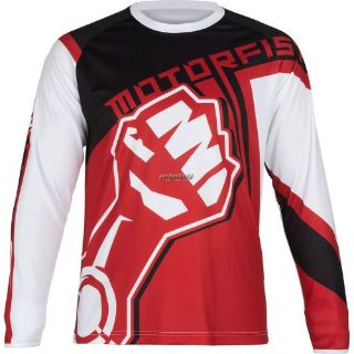 Sell MotorFist Blockade Jersey-Red/White/Black motorcycle in Sauk Centre, Minnesota, United States, for US $59.99