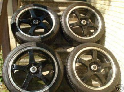 $600 18? rims low profile tires