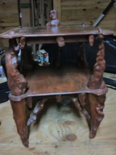 Old antique side table