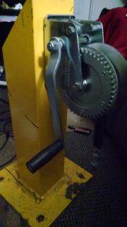 Hoist with steel mount
