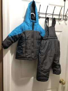 24 months - 2t snow pants and jacket