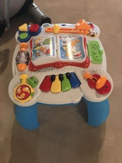 Learn and groove musical table