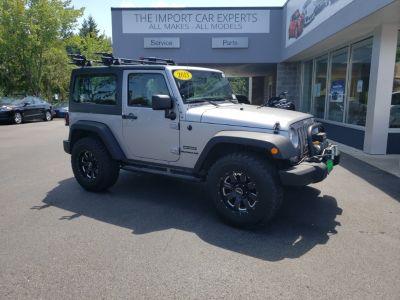 2013 Jeep Wrangler Sport (Billet Silver Metallic)