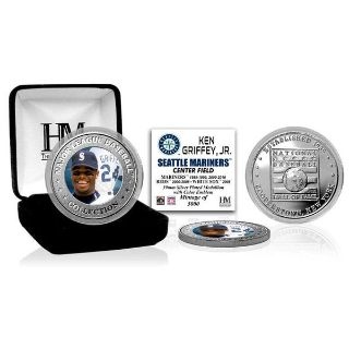 Ken Griffey Jr. Highland Mint 2016 MLB Hall of Fame Induction Commemorative Color Coin