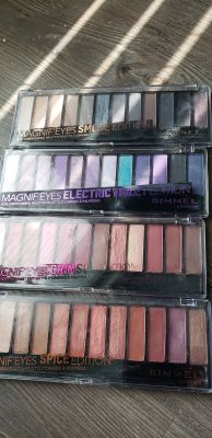 3 Rimmel Magnif'eyes pallets