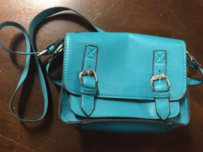 Teal purse, brand new, small
