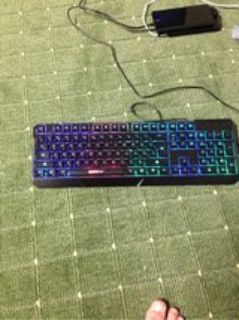 elegant gaming keyboard obo/accepting trades