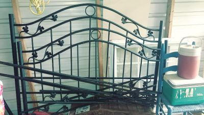 Iron Bed.