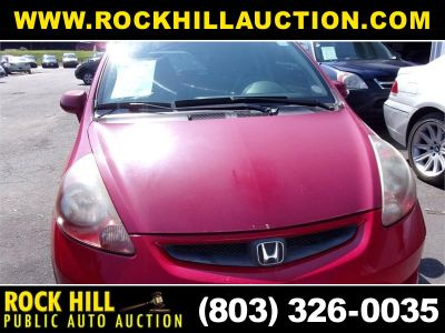 2008 Honda Fit Base (Red)
