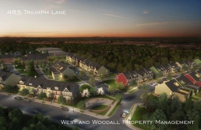 Brand new executive townhome near downtown Wake Forest