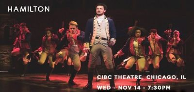 Buy Hamilton Tickets on Tixbag, Wed 14 Nov 2018, Chicago, IL