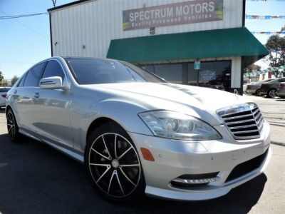 2013 Mercedes-Benz S-Class S550 (Iridium Silver Metallic)