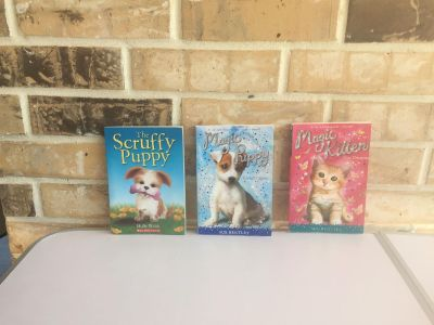 Books about dogs and cats
