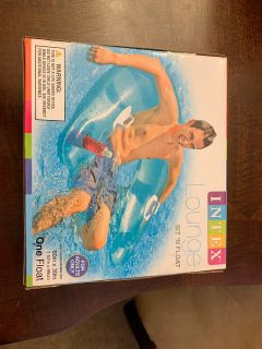 NIB sit and float inflatable chair