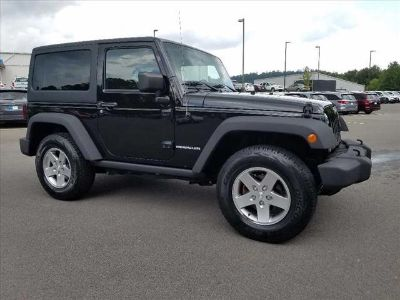 2012 Jeep Wrangler Rubicon (Black Clear Coat)
