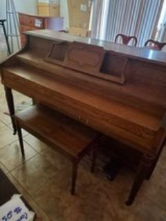 Vose $ Sons Piano and Bench